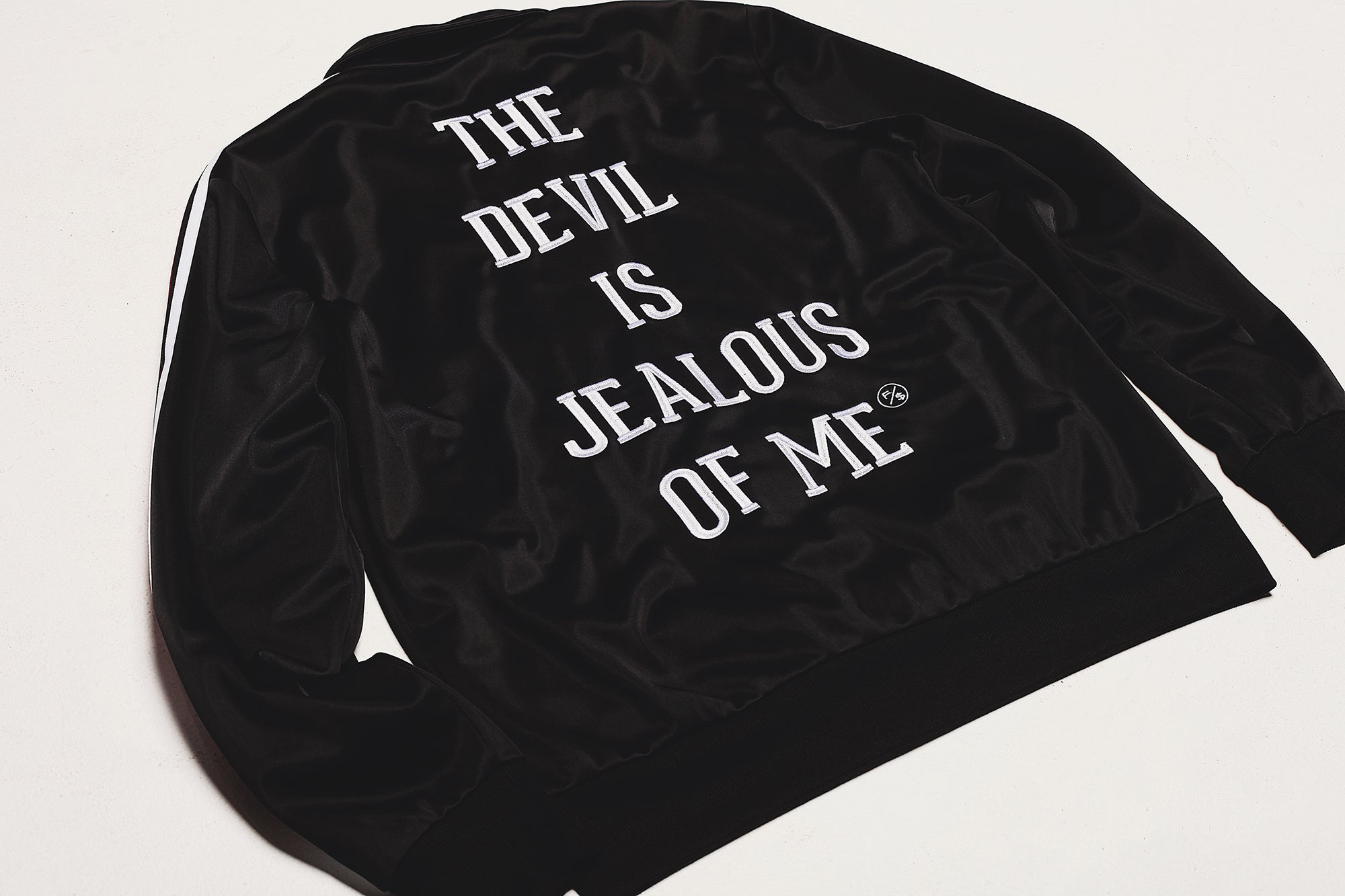 Jealousy Zip-Up Trap Jacket (Top)