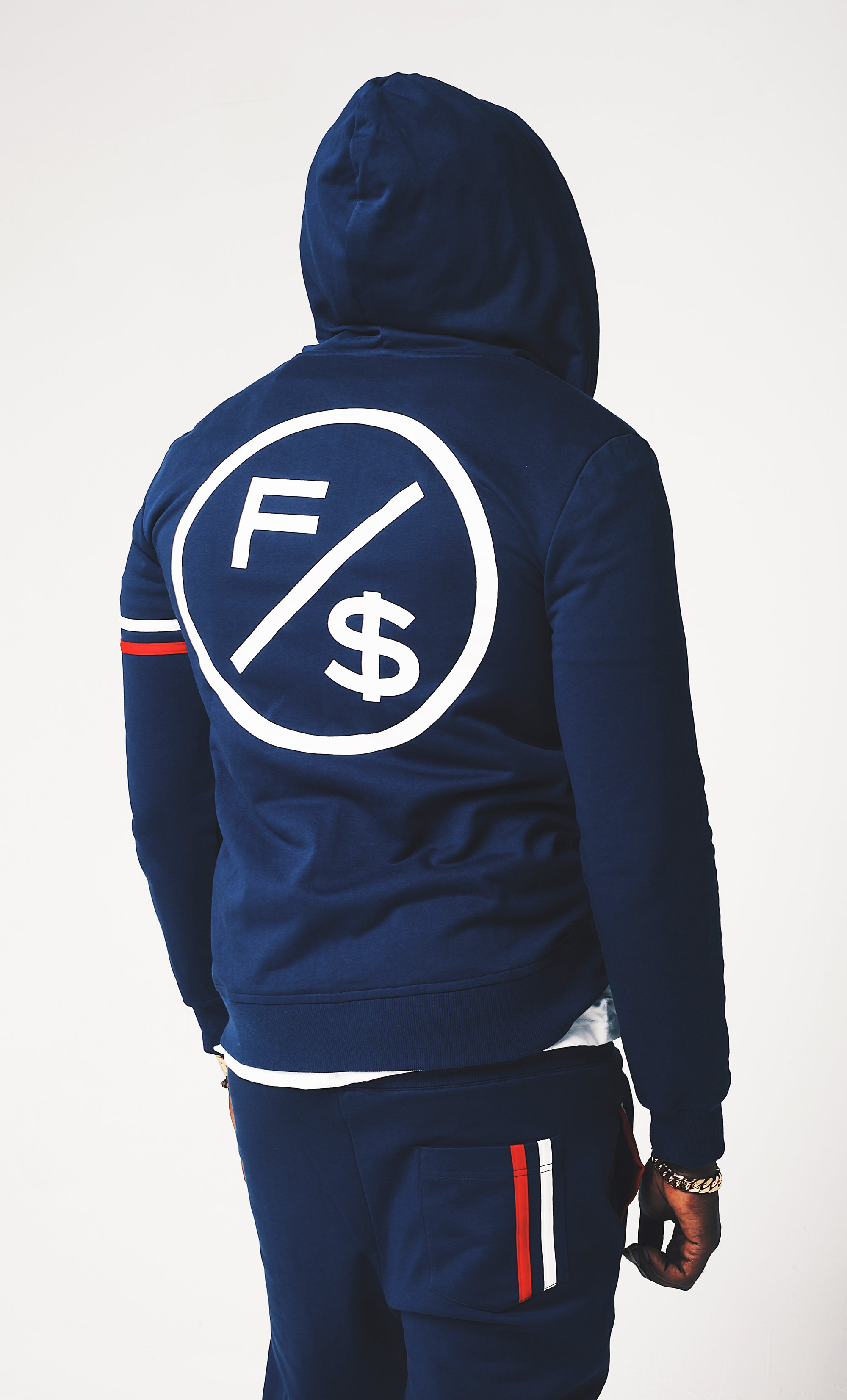 2 Band$ Sweat Suit Hoody (Top)