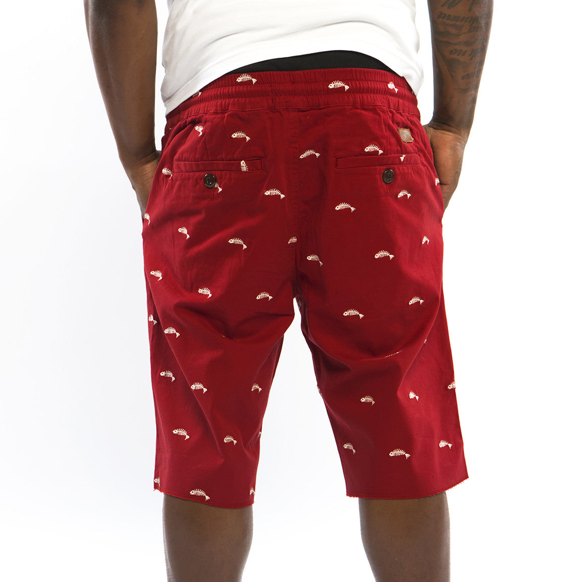 Fishscale Cruiser Shorts (Rust)