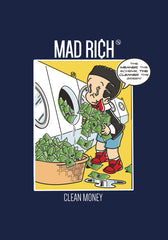 Mad Rich: Clean Money - Mounted Canvas