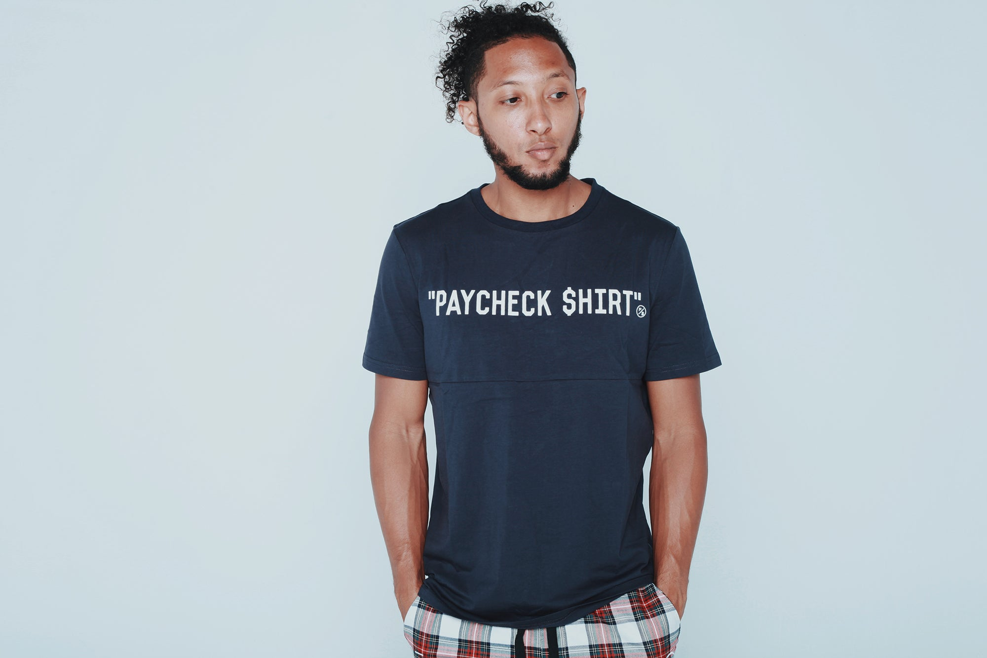 Paycheck Shirt (Avail in Black or Navy)