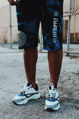 The World Tie-Dye - Shorts (Blue)