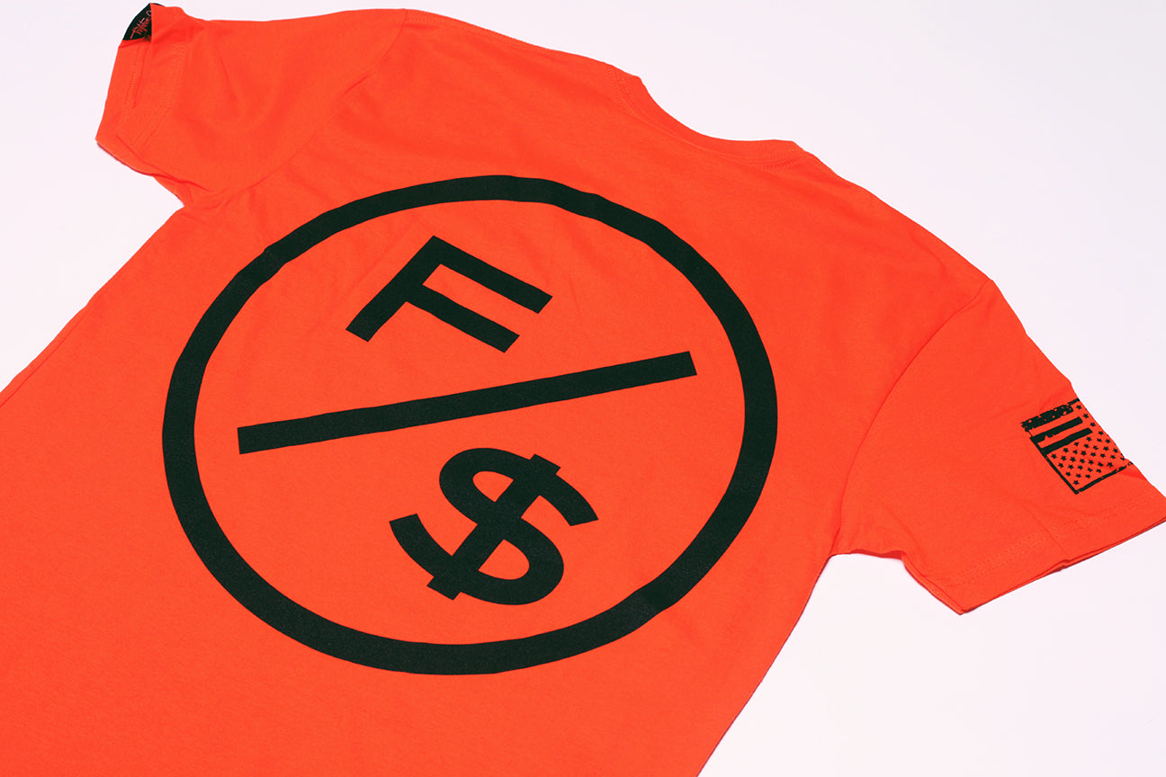 Family Over Money (Orange)