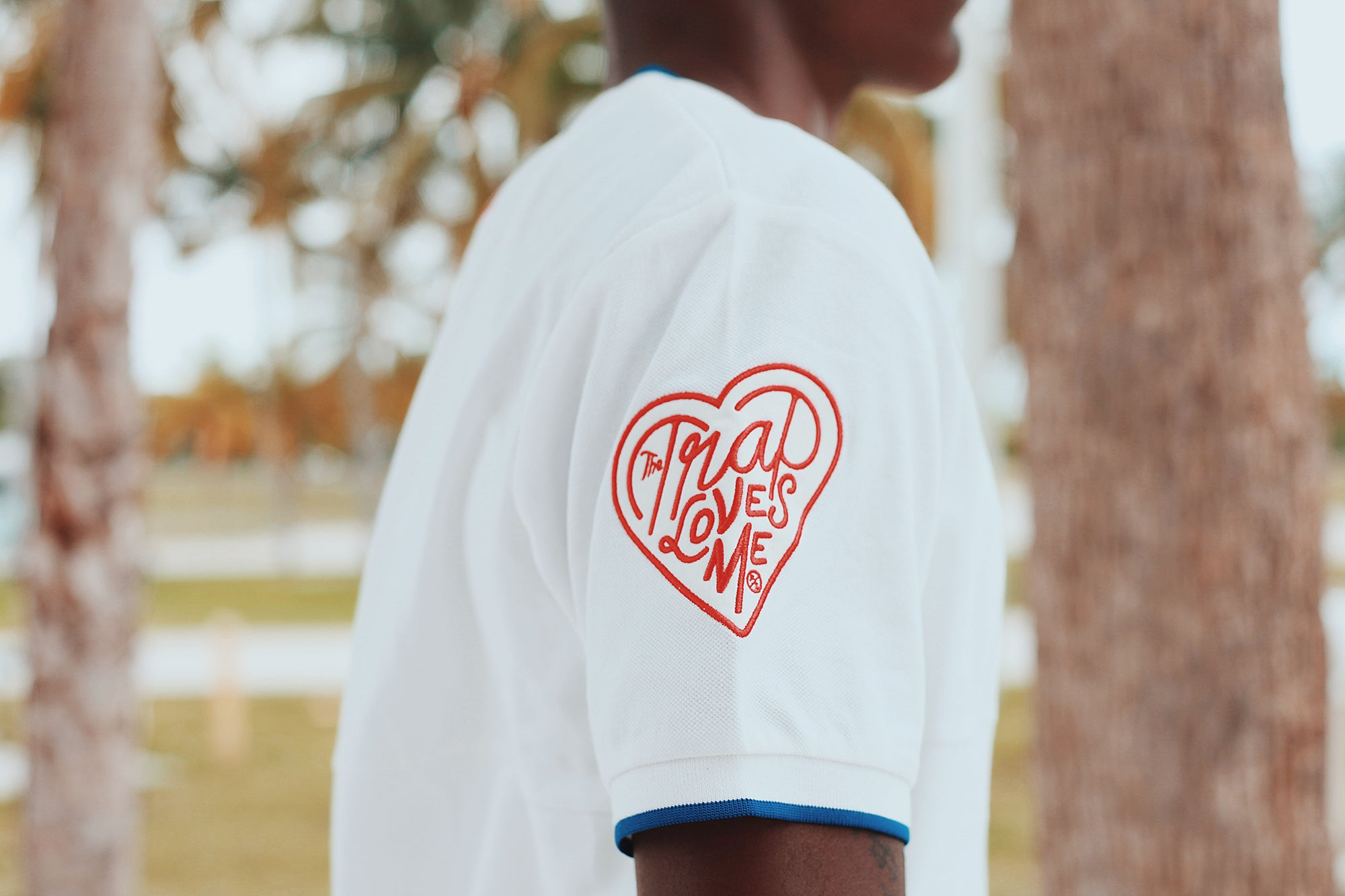 Trap Love Crewneck Polo