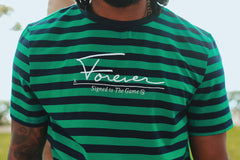 Signed Stripe Shirt (Green)