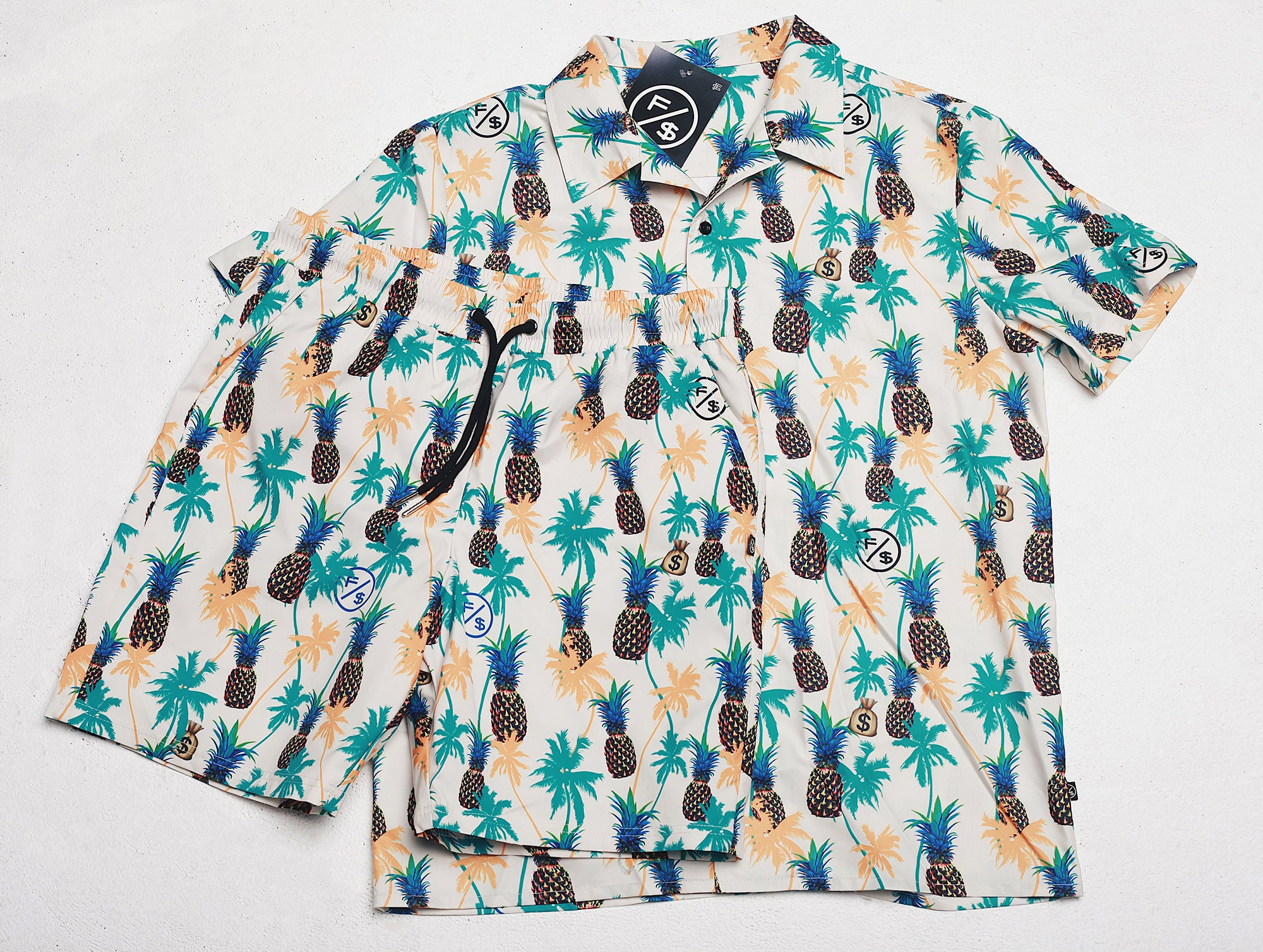 Pineapple Express Printed Shorts
