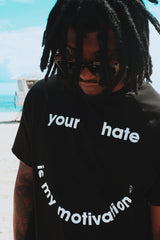 Your Hate Raglan Tee