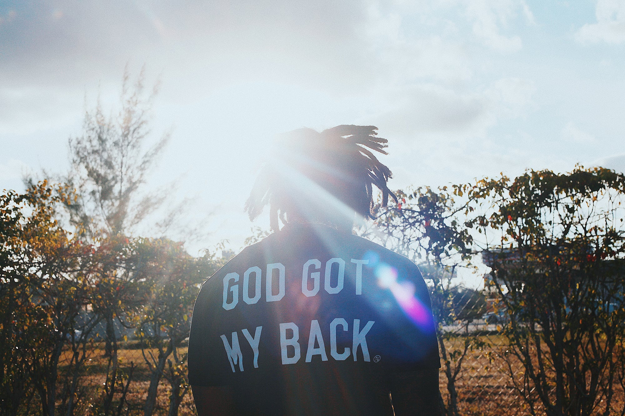 God Got My Back (Black)