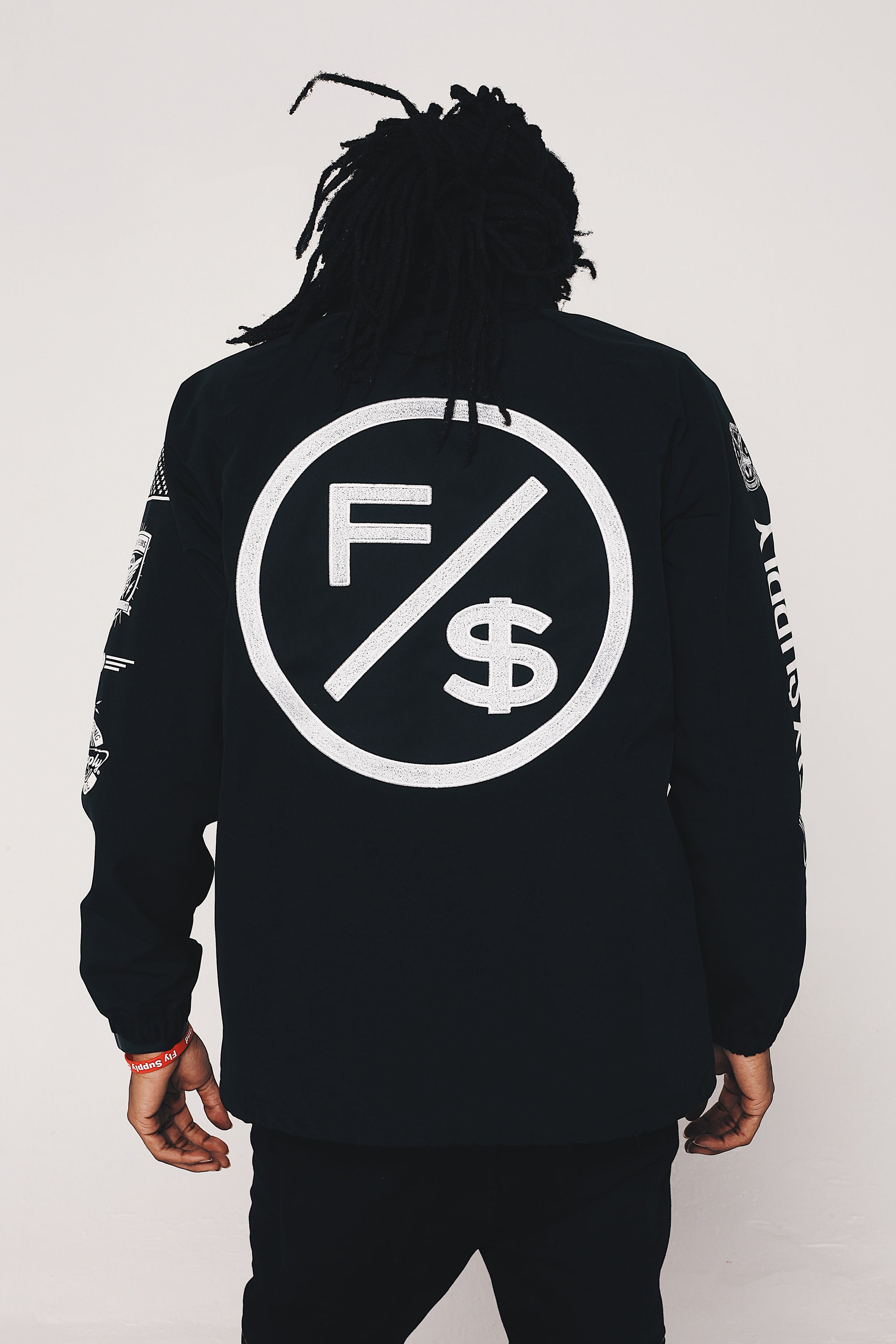 Family Over Money Coach Jacket