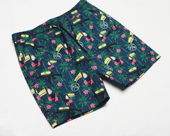 Bird Watch Printed Shorts