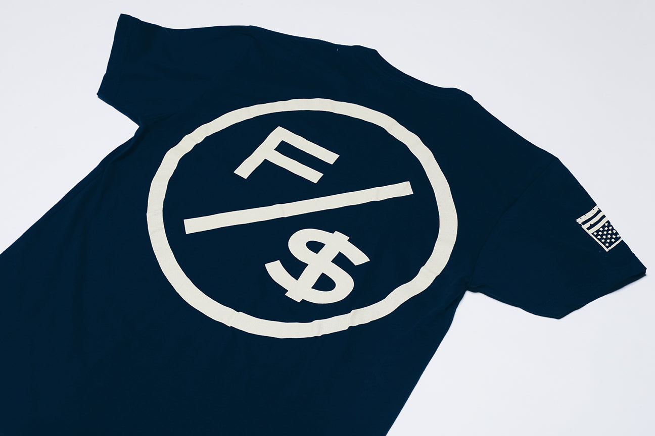Family Over Money (Navy/Cream)