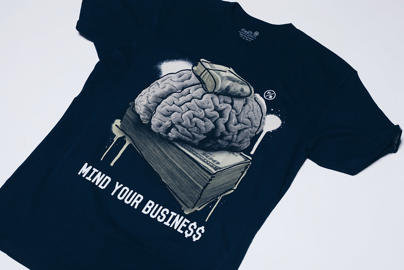 MYB - Mind Your Business (Navy)