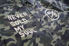 Never Sold My Soul Woven Camo