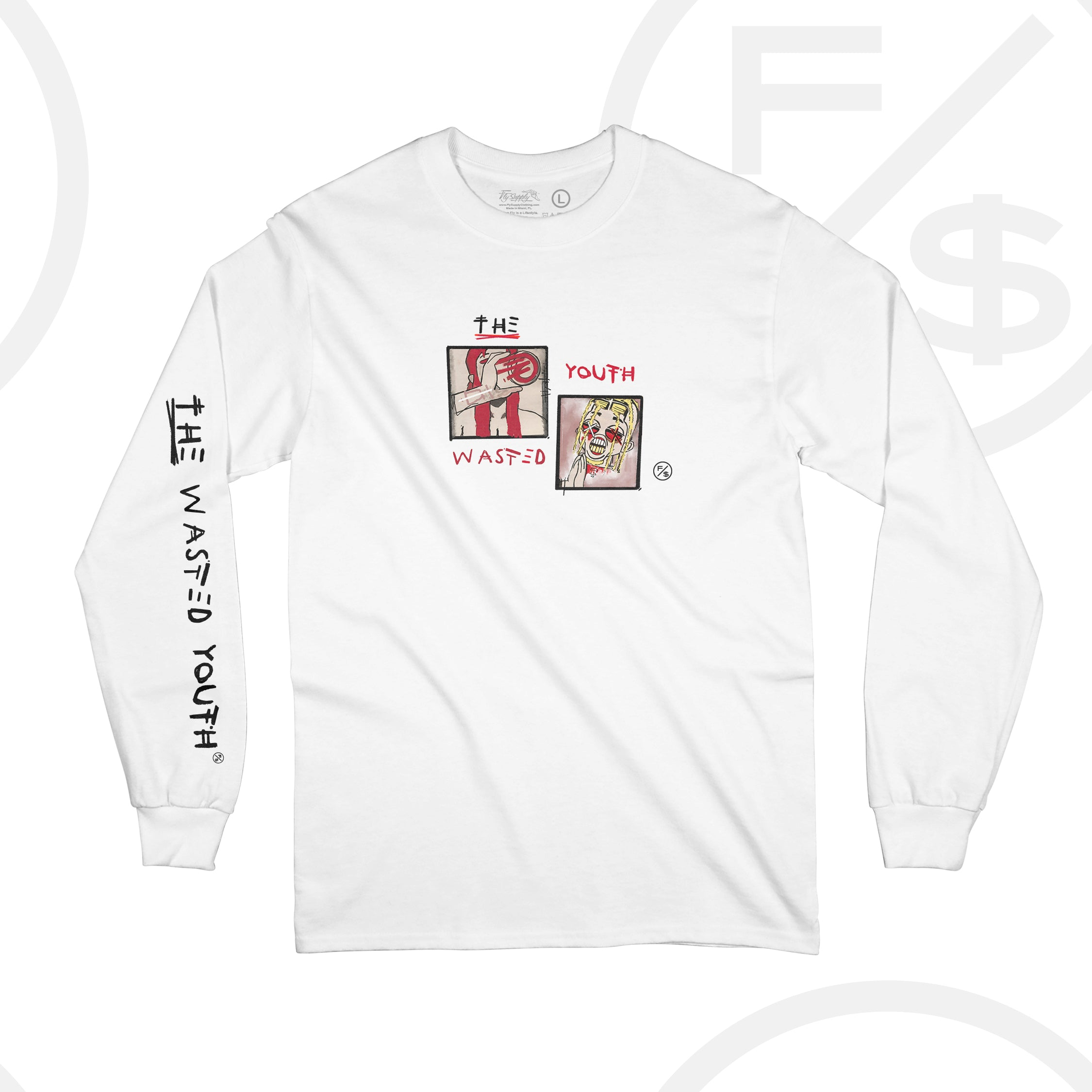 The Wasted Youth - Long Sleeve