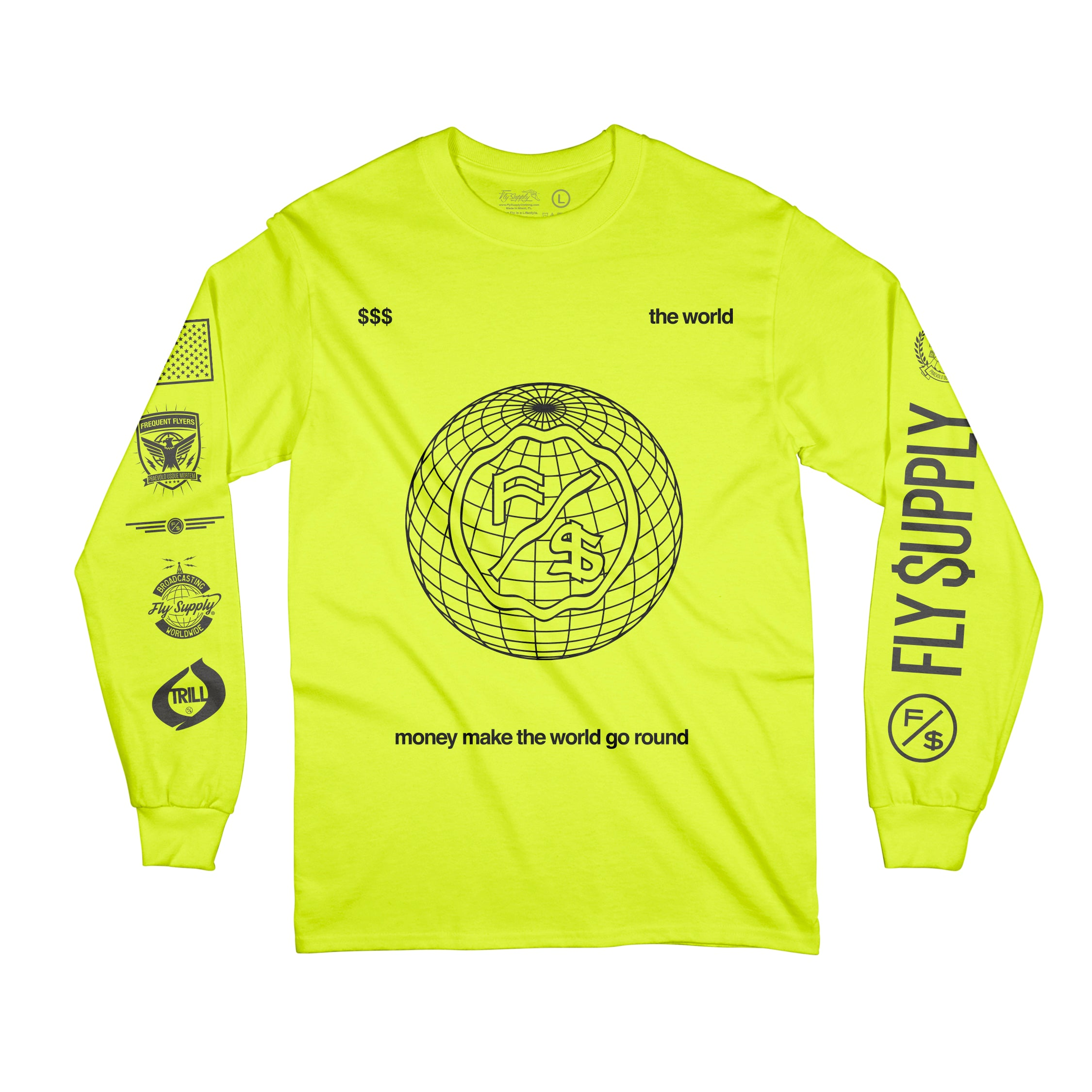 The World (L/S Tee)