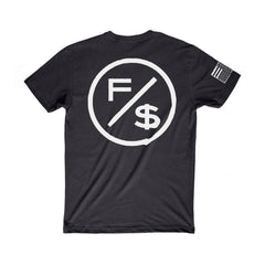 Family Over Money Tee (Black)