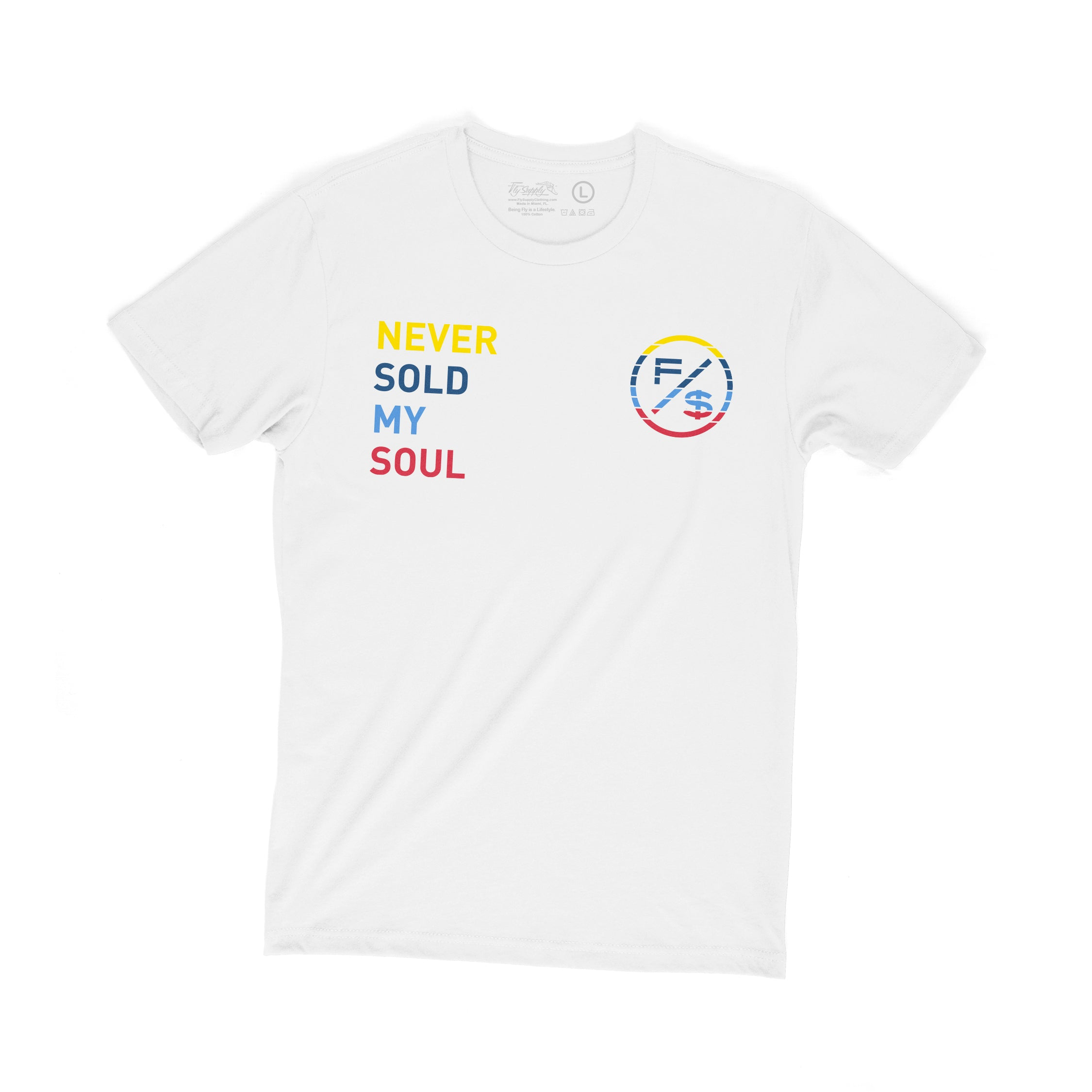 F/$ - Never Sold Tee (WHT)