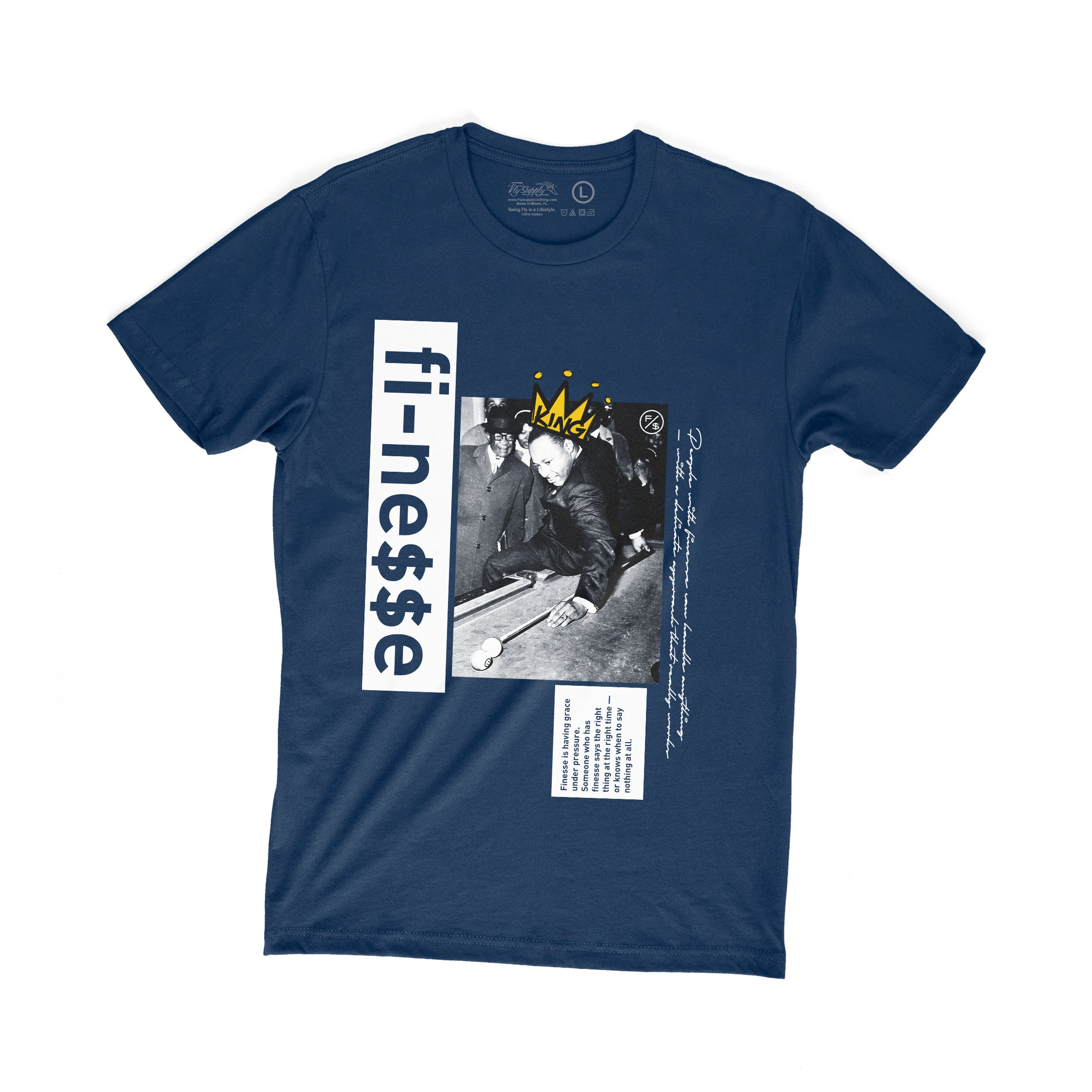 Finesse MLK (Navy)