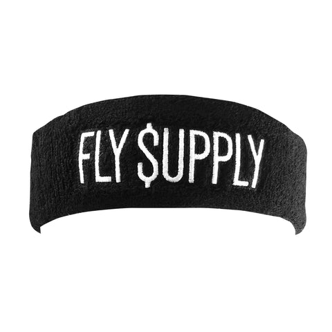 "Headband ""Fly Supply"" (BLK)"