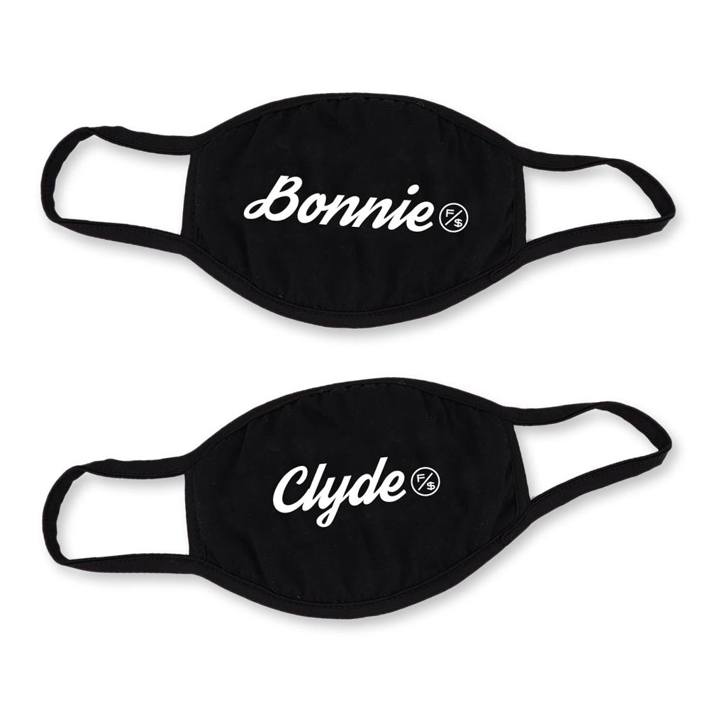 Bonnie & Clyde Face Mask (2pc Combo)