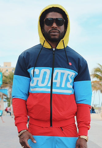 GOATS Colorblock Windbreaker