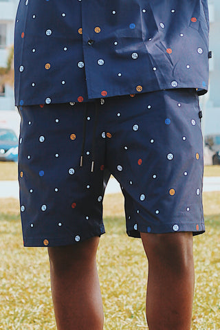 F/$ Dots Printed Shorts