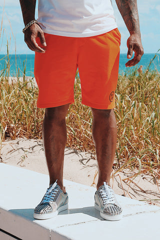 F/$ Basic Shorts (Orange)