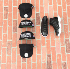 Lucrative Thoughts Snapback (blk/blk)