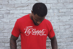 Fly Supply Logo: Red
