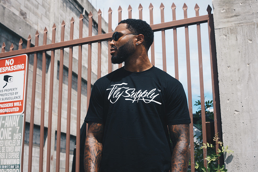 Fly Supply Logo: Black