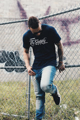 Fly Supply Logo: Navy