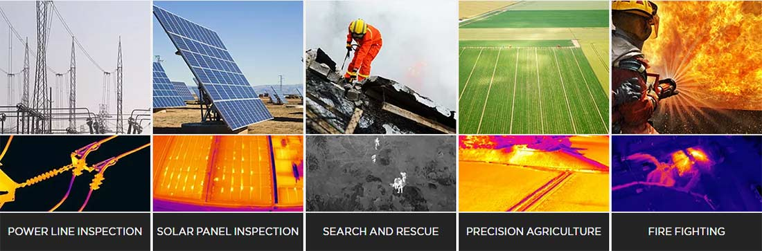 Thermal Infrared Aerial Imagery Industrial Imaging