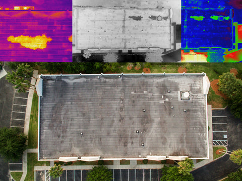 FLIR Infrared Thermal Report from Drone