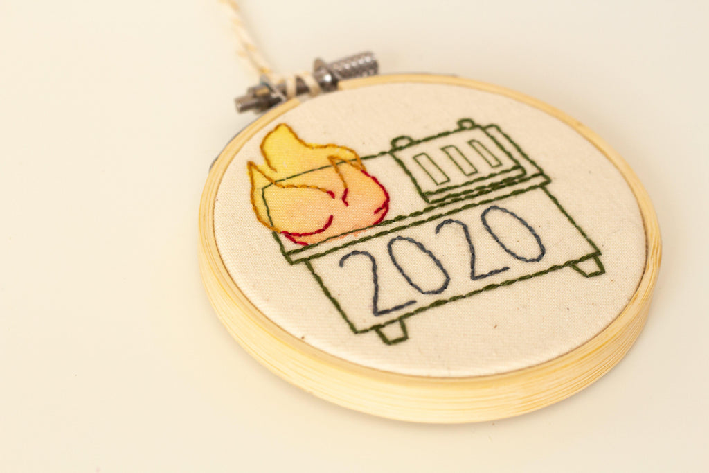 2020 Dumpster Fire , Ornament | The Femme Bohemian