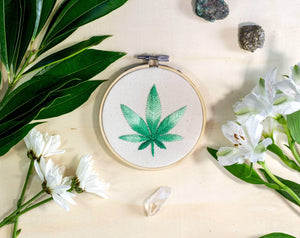 Cannabis Leaf Art lifestyle