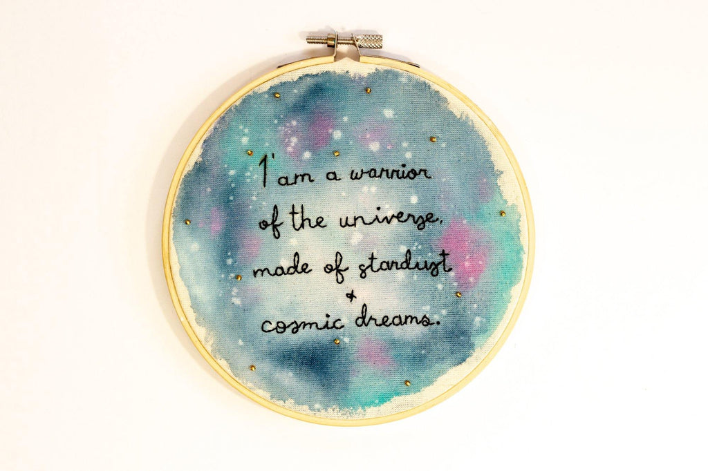 Stardust Cosmic Galaxy Art - The Femme Bohemian