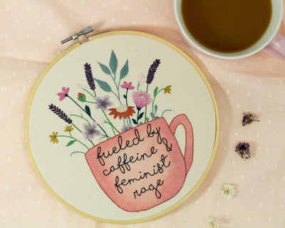 Fueled by Caffeine and Feminist Rage  - The Femme Bohemian
