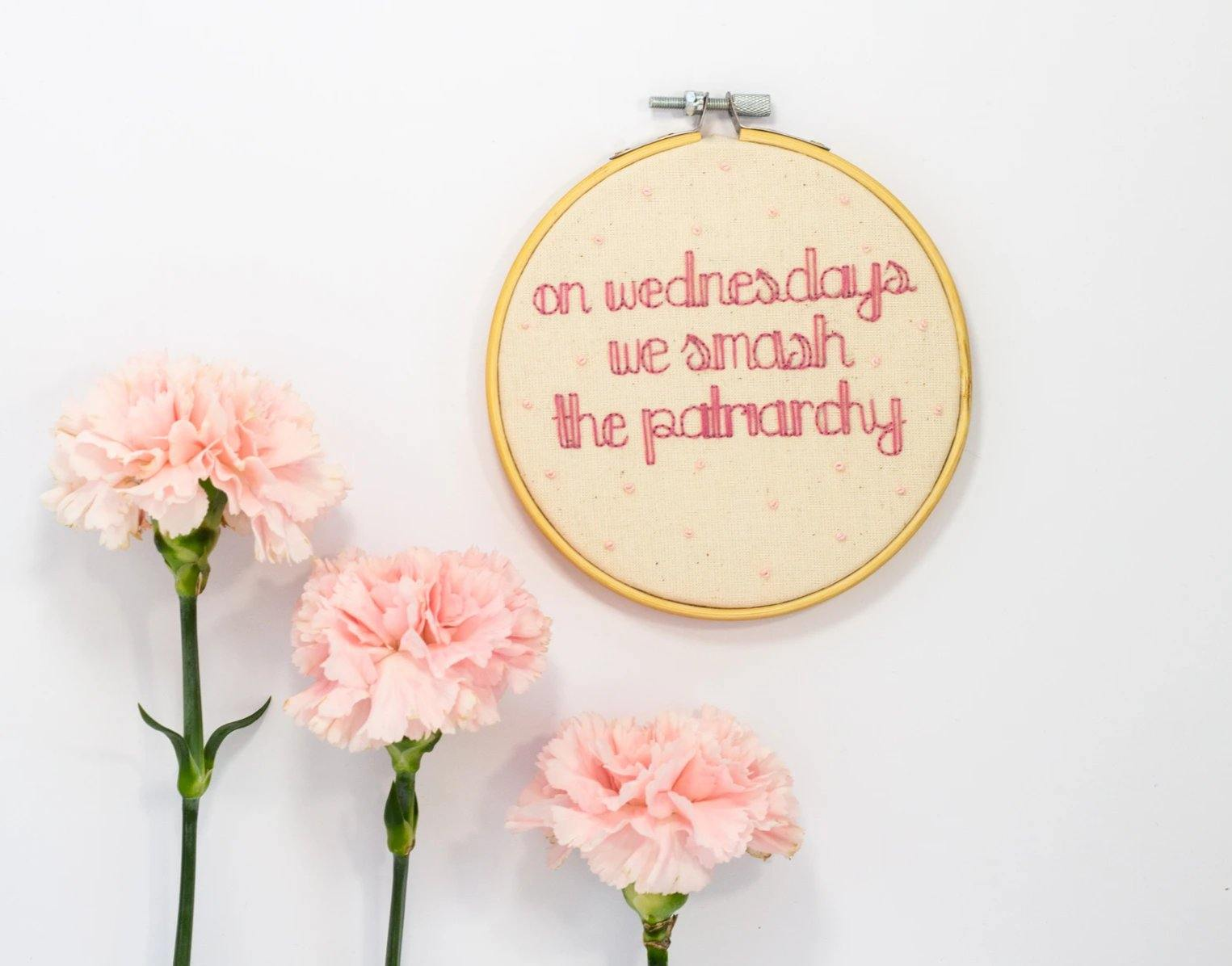Mean Girls Quote, We Smash The Patriarchy - The Femme Bohemian - The Femme Bohemian