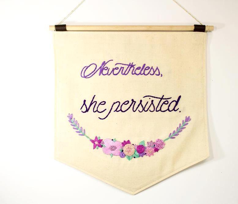 Nevertheless She Persisted, Feminist Quotes - The Femme Bohemian