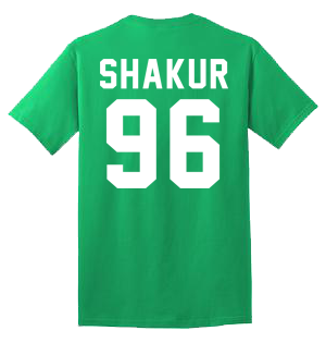 SHAKUR 96 100% Cotton Tee Shirt #A002
