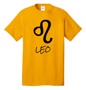 LEO 100% Cotton Tee Shirt #H006