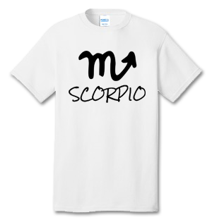 SCORPIO 100% Cotton Tee Shirt #H010
