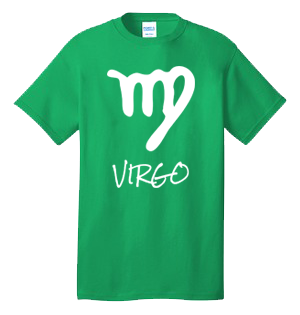 VIRGO 100% Cotton Tee Shirt #H012