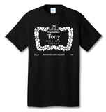Personalized Henny Label 100% Cotton Tee Shirt #Q002