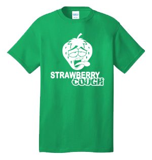 STRAWBERRY COUGH 100% Cotton Tee Shirt #Q003