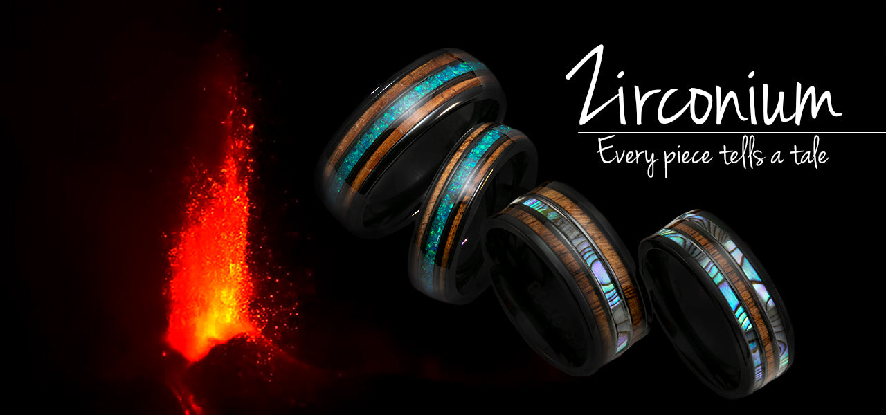 Black Koa Rings