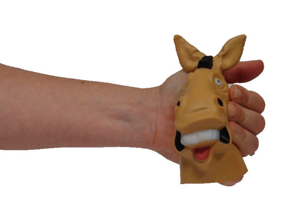Jake The Donkey Head Stress Reliever