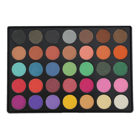 Kara 35 Color Eyeshadow Palette | Blue Scandal
