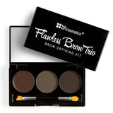 BH Cosmetics Flawless Brow Trio | Blue Scandal