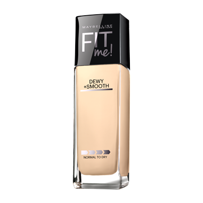 Maybelline Fit Me Dewy + Smooth Foundation | Blue Scandal